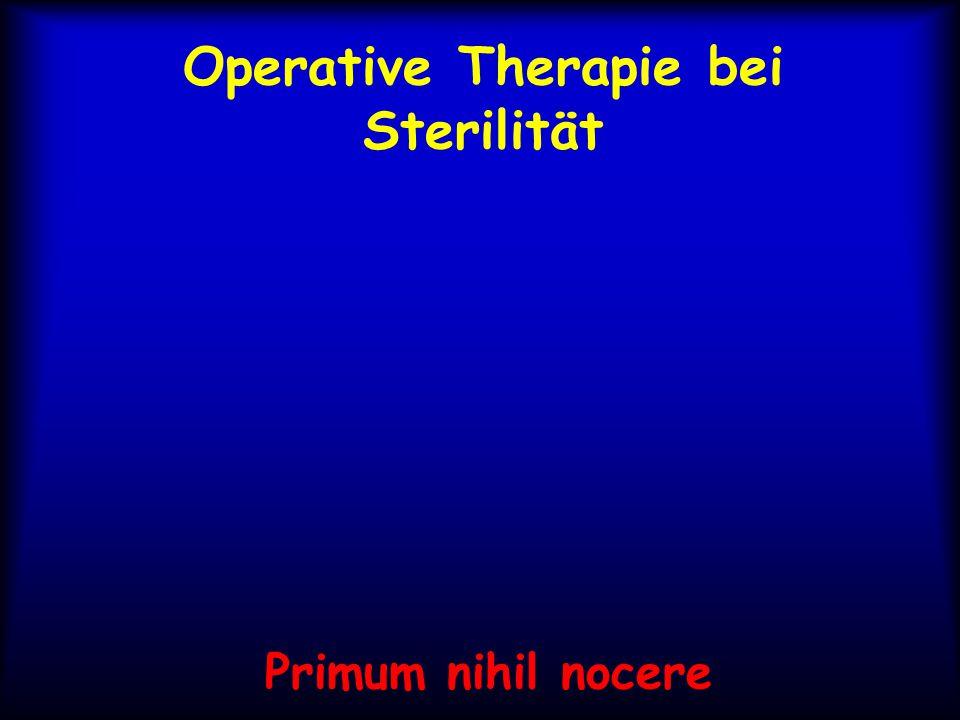 Operative Therapie bei Sterilität