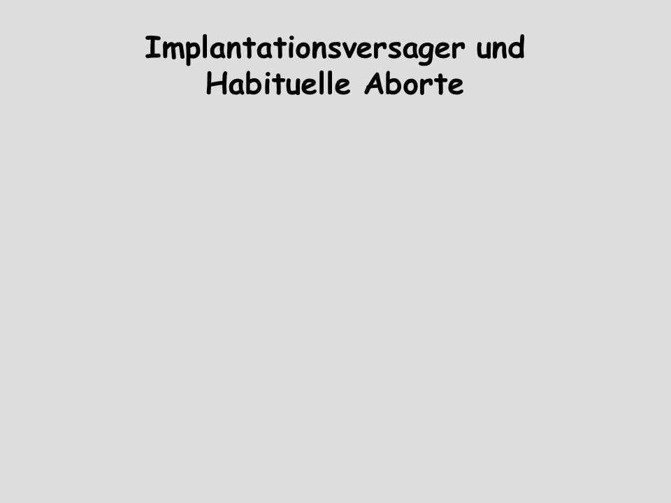 Implantationsversager und