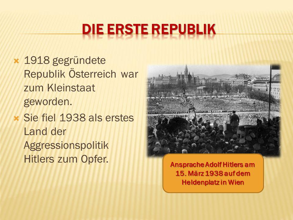 Ansprache Adolf Hitlers am 15. März 1938 auf dem Heldenplatz in Wien