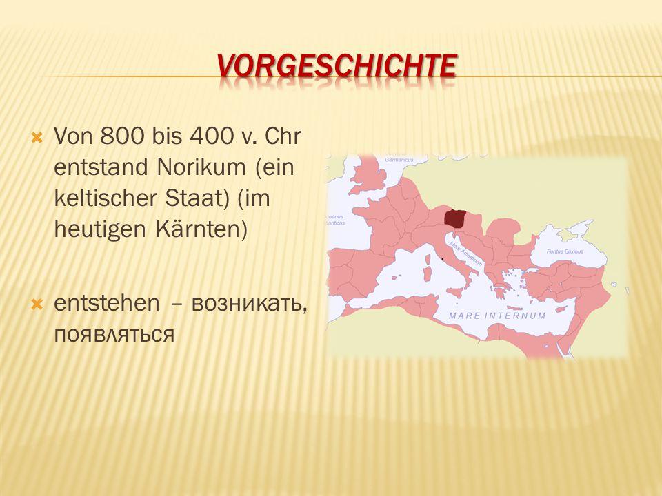 Vorgeschichte Von 800 bis 400 v.