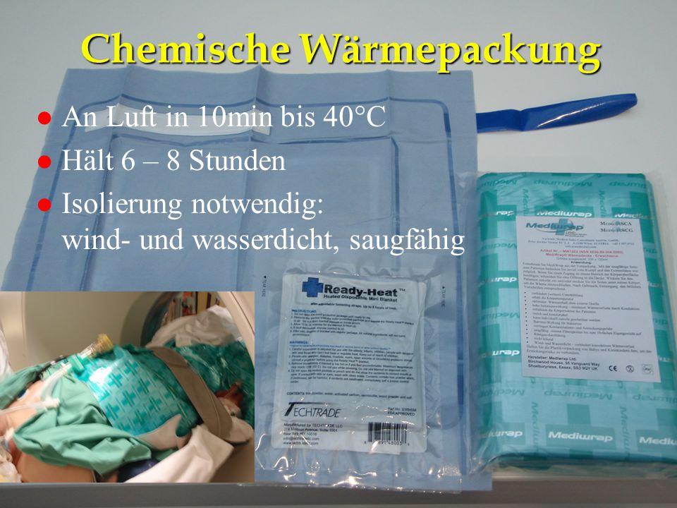 Chemische Wärmepackung