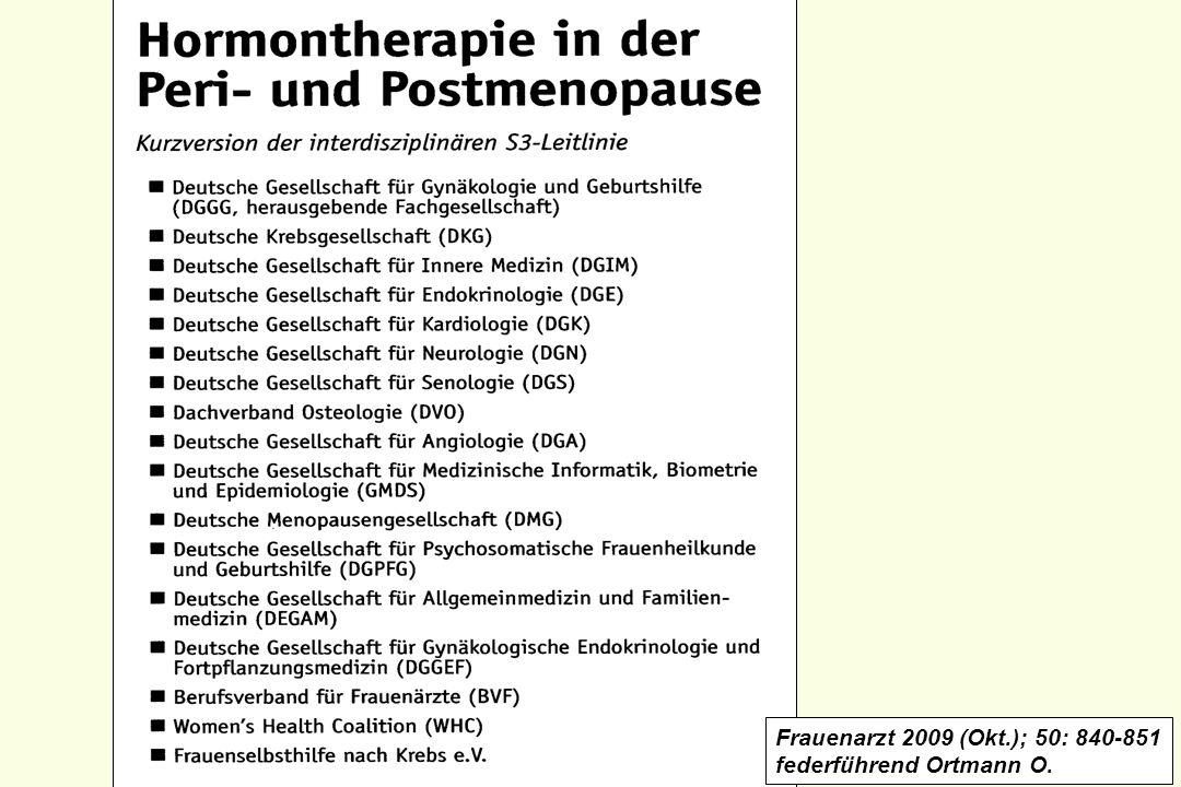 Frauenarzt 2009 (Okt.); 50: 840-851 federführend Ortmann O.