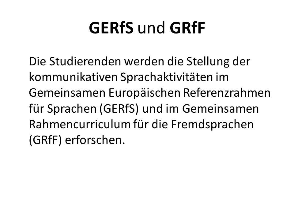 GERfS und GRfF