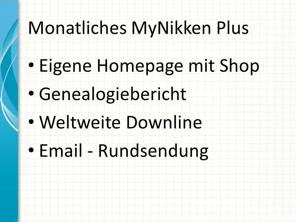 Monatliches MyNikken Plus