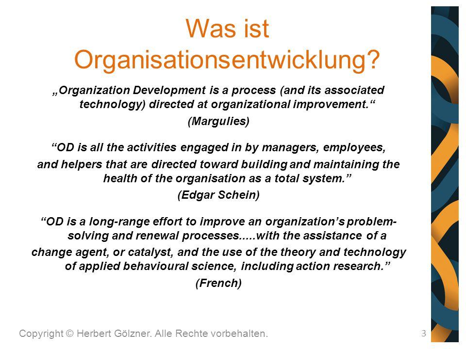 Was ist Organisationsentwicklung