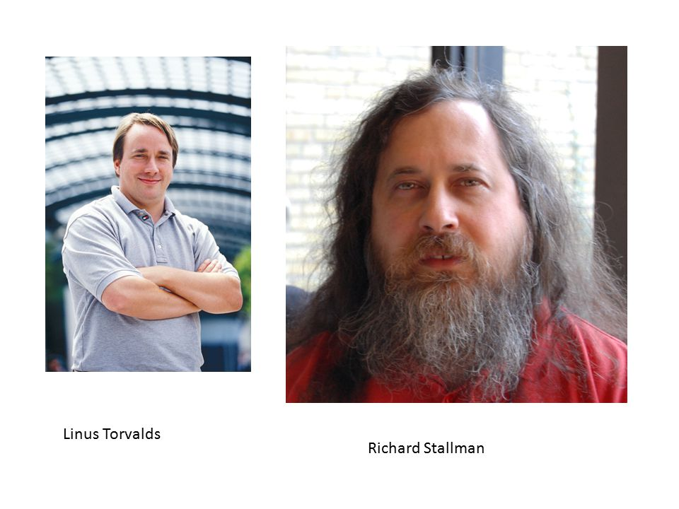 Linus Torvalds Richard Stallman