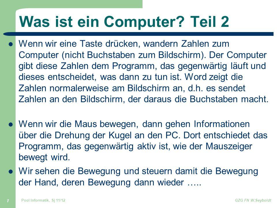Was ist ein Computer Teil 2