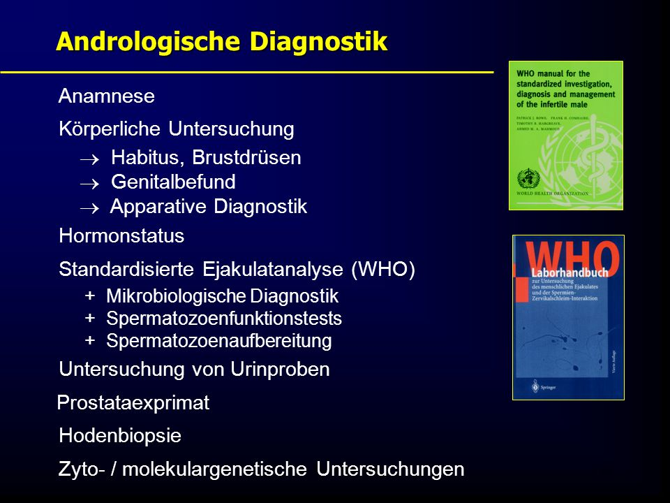Andrologische Diagnostik
