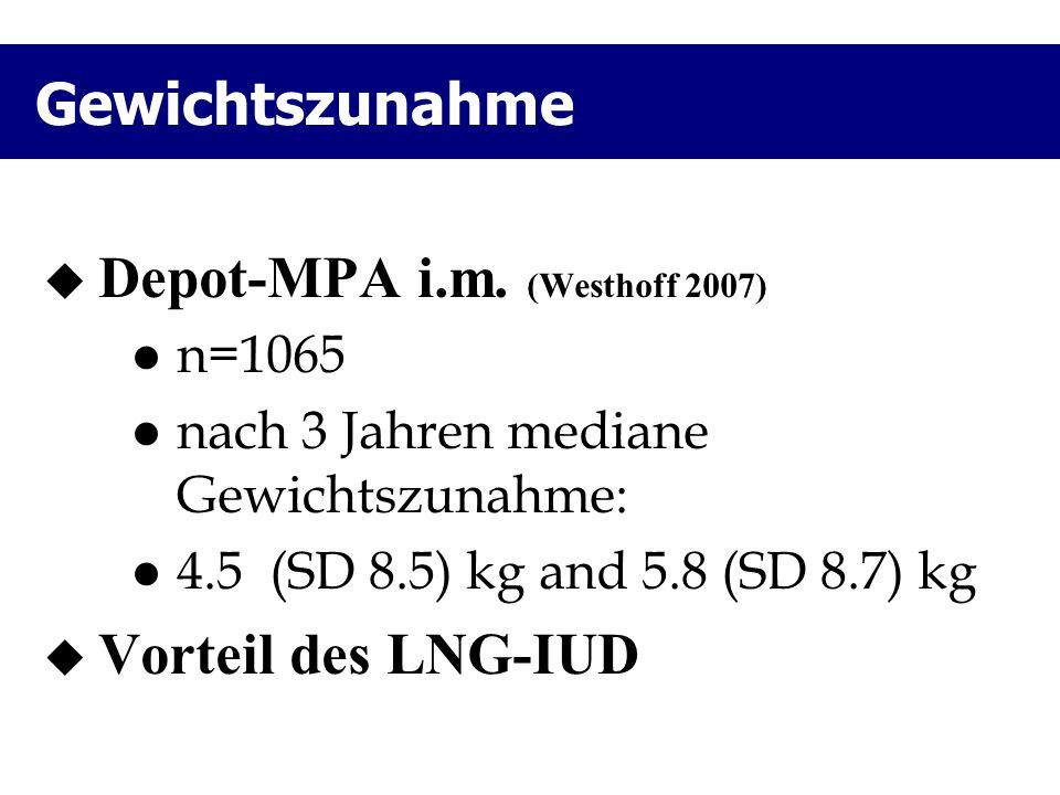 Depot-MPA i.m. (Westhoff 2007)