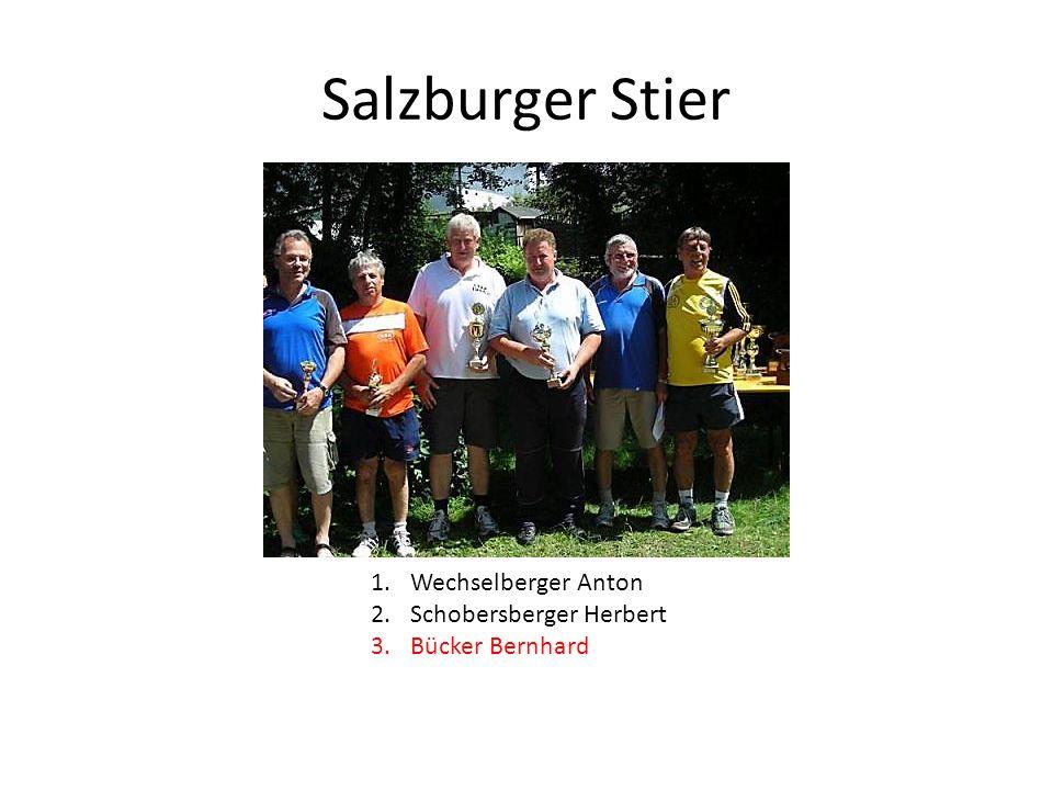 Salzburger Stier Wechselberger Anton Schobersberger Herbert