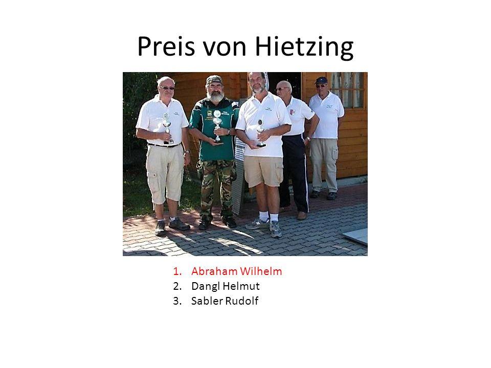Preis von Hietzing Abraham Wilhelm Dangl Helmut Sabler Rudolf