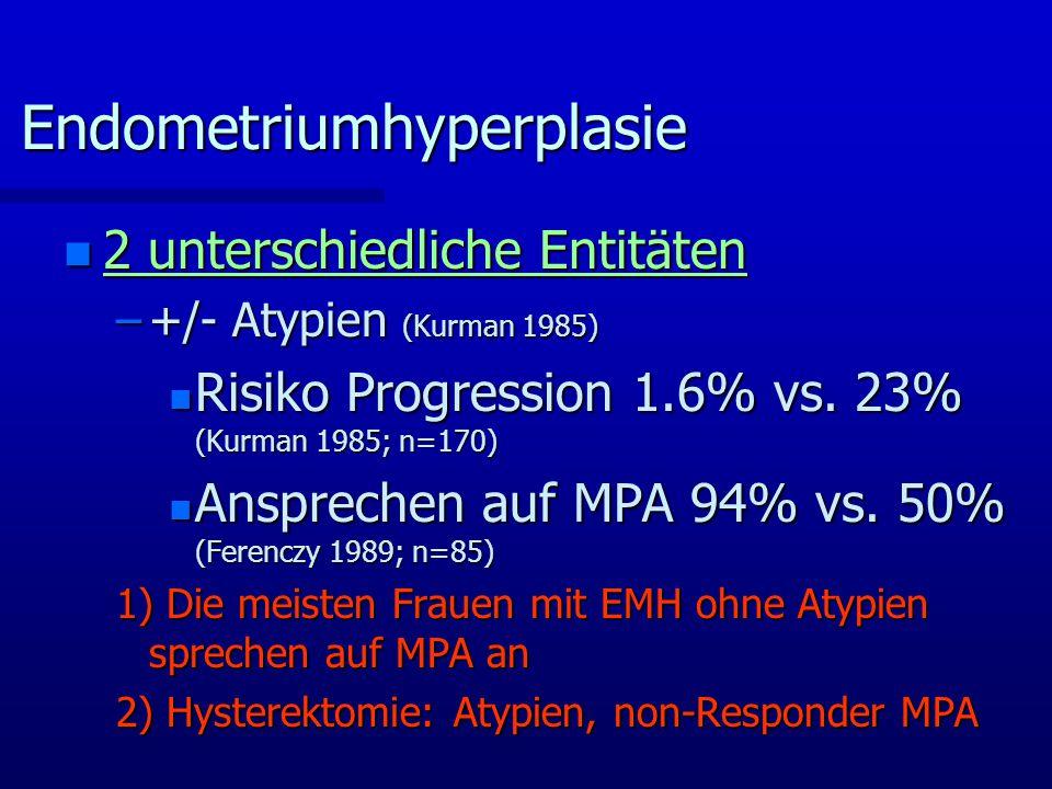 Endometriumhyperplasie