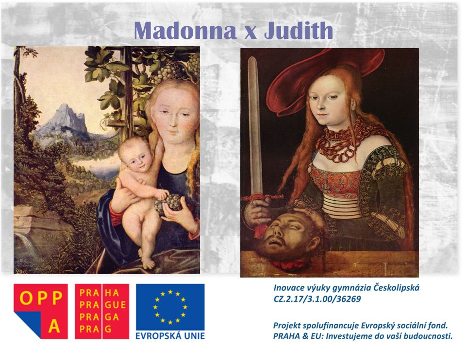 Madonna x Judith
