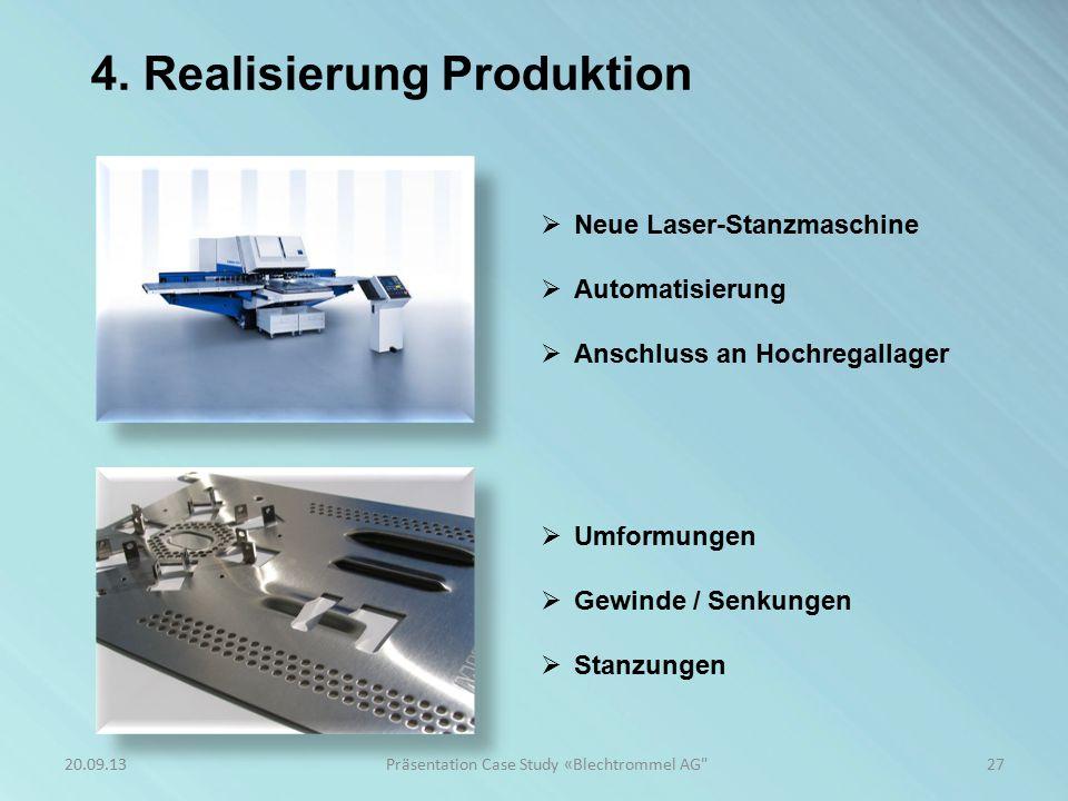 Präsentation Case Study «Blechtrommel AG
