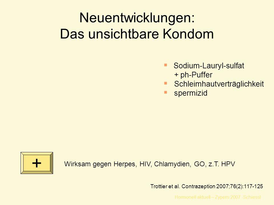 Neuentwicklungen: Das unsichtbare Kondom