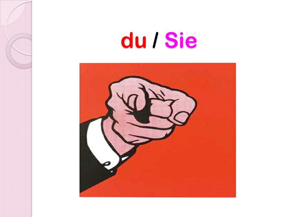 du / Sie