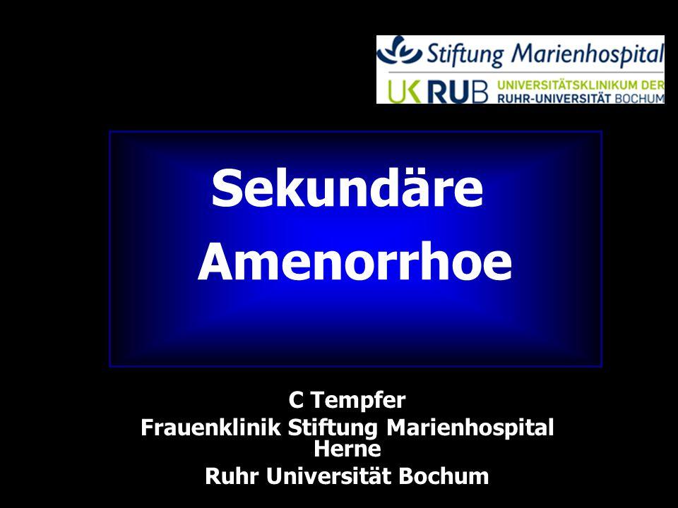 Frauenklinik Stiftung Marienhospital Herne Ruhr Universität Bochum