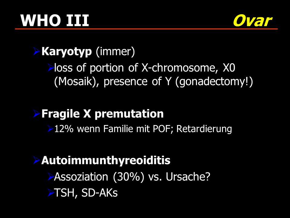 WHO III Ovar Karyotyp (immer)