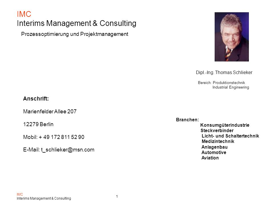 IMC Interims Management & Consulting