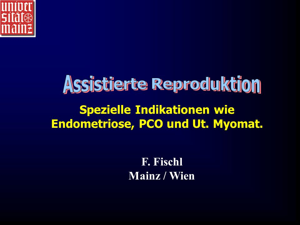 Assistierte Reproduktion