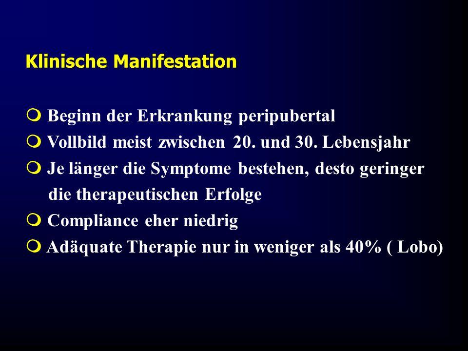 Klinische Manifestation