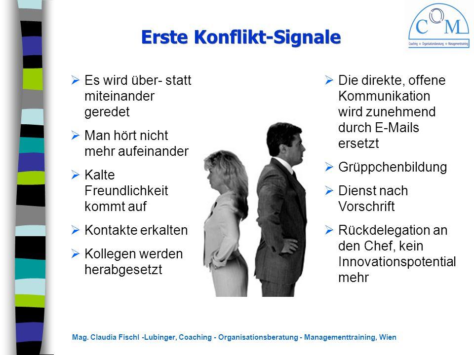 Erste Konflikt-Signale