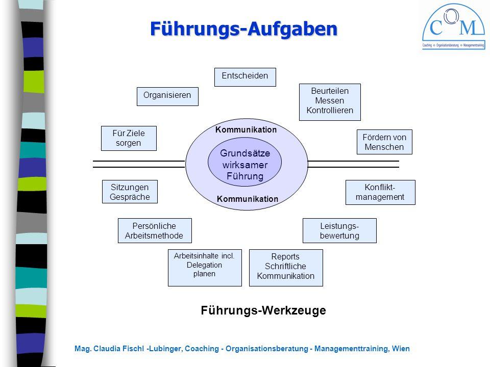 Führungs-Aufgaben Führungs-Werkzeuge Grundsätze wirksamer Führung