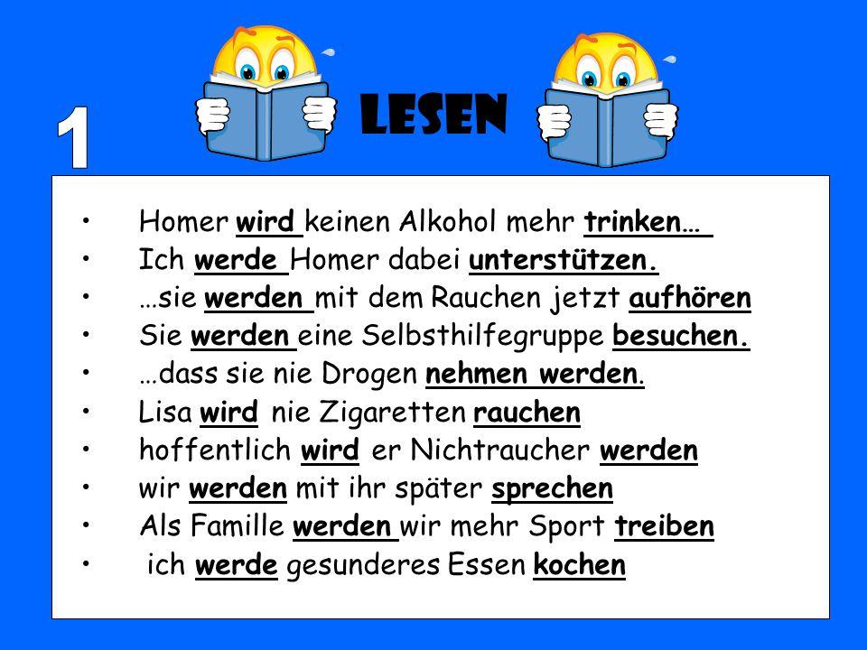 Lesen 1 Homer wird keinen Alkohol mehr trinken…
