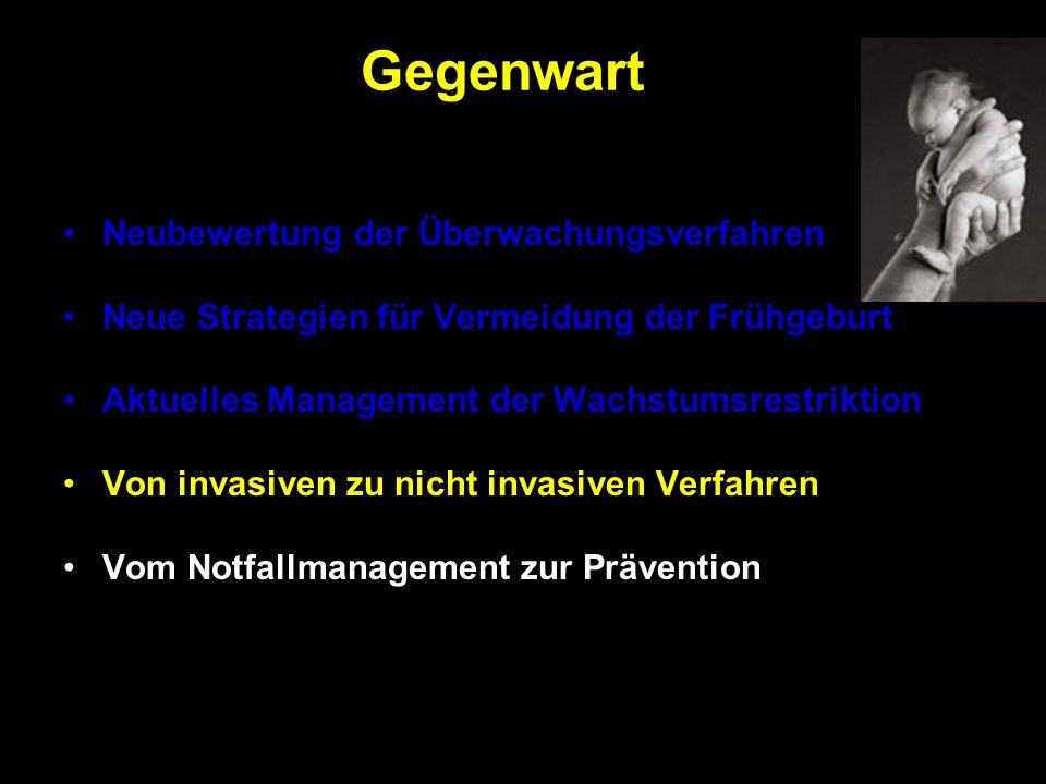 Gegenwart Neubewertung der Überwachungsverfahren