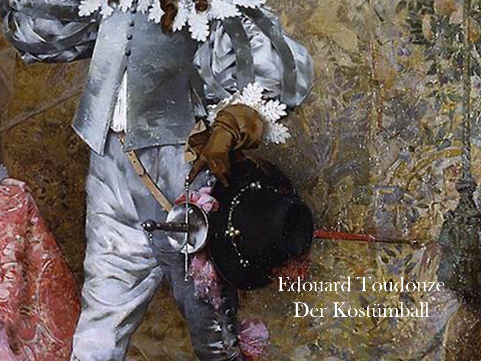 Edouard Toudouze Der Kostümball 6
