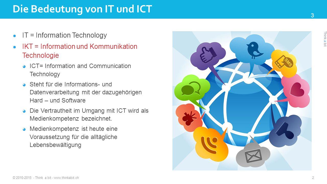 Die Bedeutung von IT und ICT