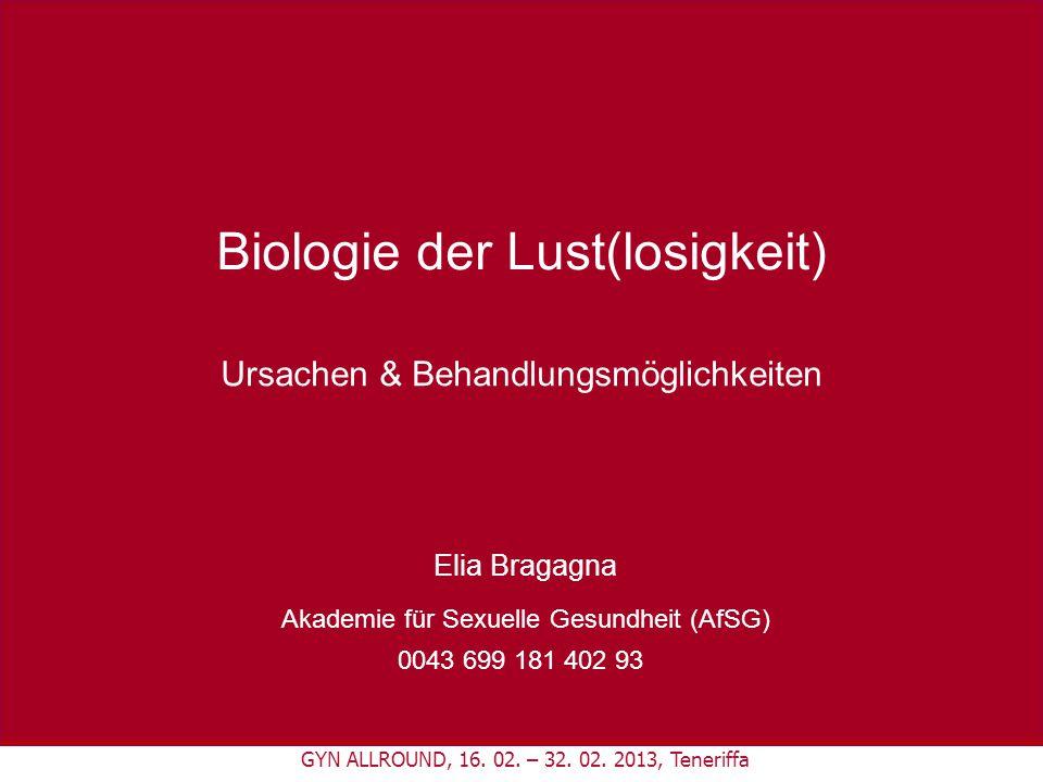 Biologie der Lust(losigkeit)