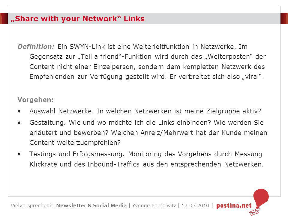 """Share with your Network Links"