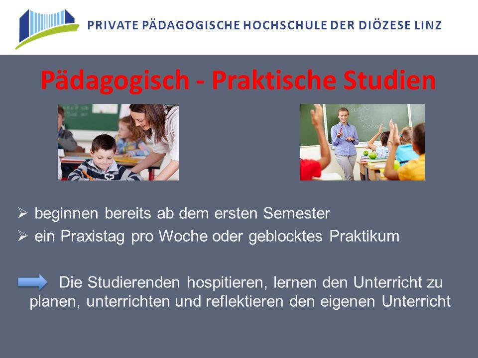 Pädagogisch - Praktische Studien