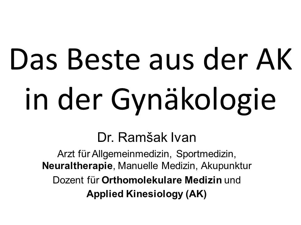 Das Beste aus der AK in der Gynäkologie