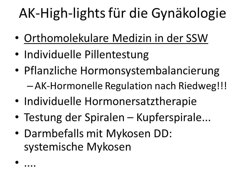AK-High-lights für die Gynäkologie