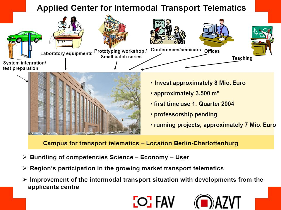Applied Center for Intermodal Transport Telematics
