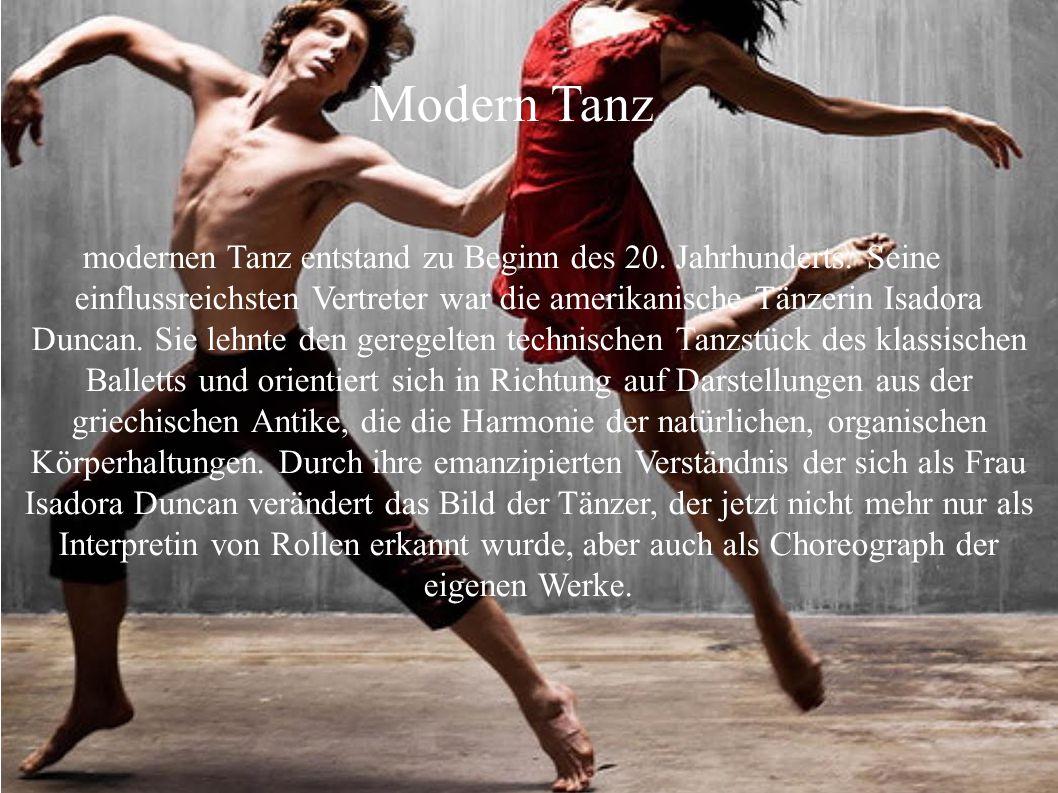 Modern Tanz