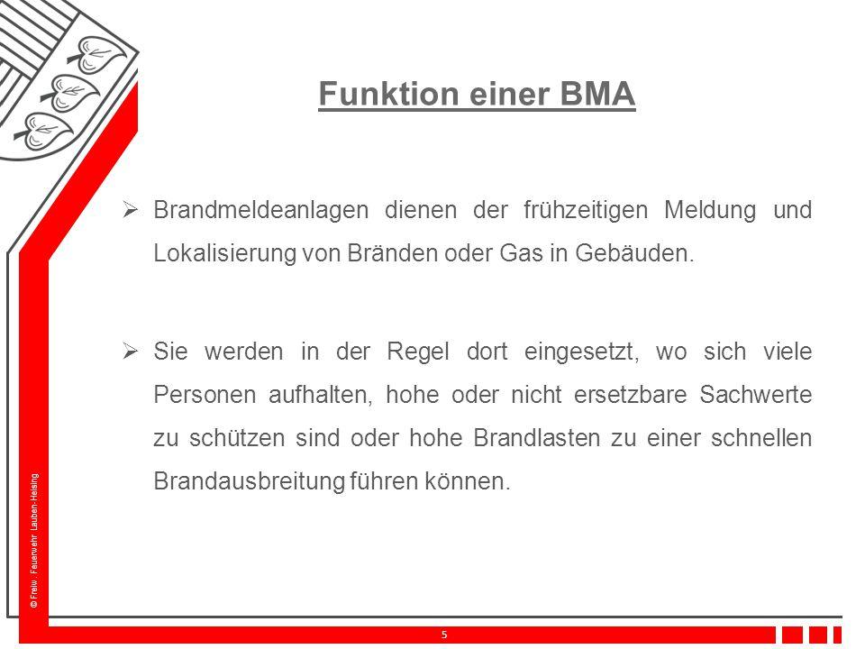 Funktion einer BMA Brandmeldeanlagen dienen der frühzeitigen Meldung und Lokalisierung von Bränden oder Gas in Gebäuden.