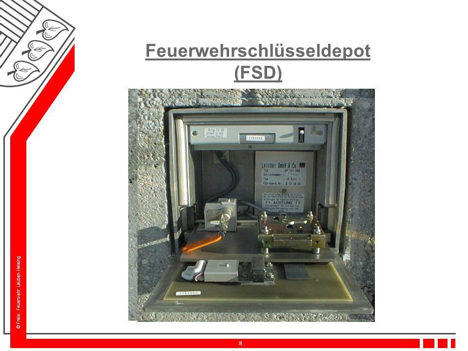 Feuerwehrschlüsseldepot (FSD)