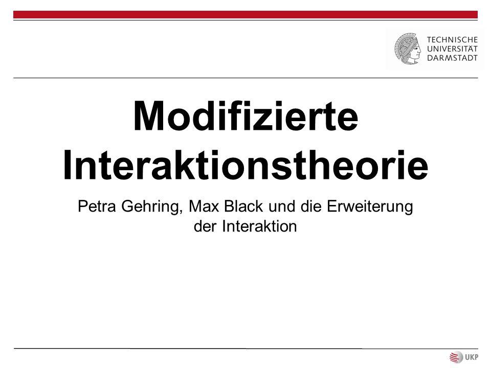 Modifizierte Interaktionstheorie