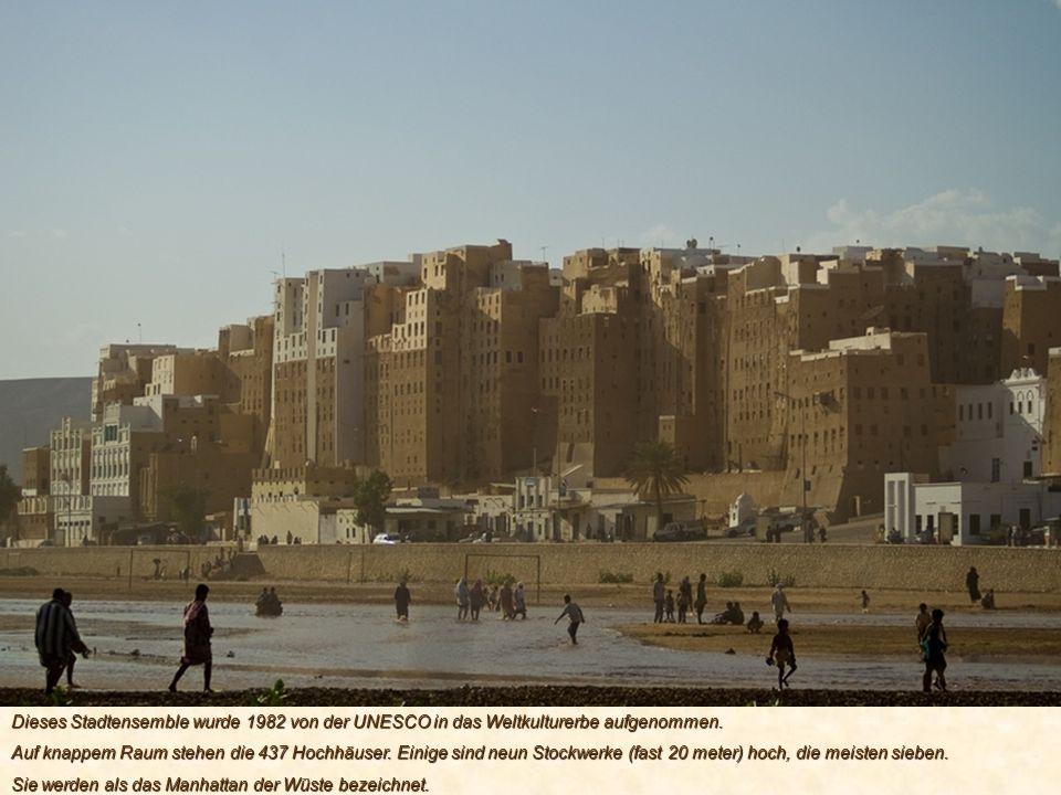 Dieses Stadtensemble wurde 1982 von der UNESCO in das Weltkulturerbe aufgenommen.