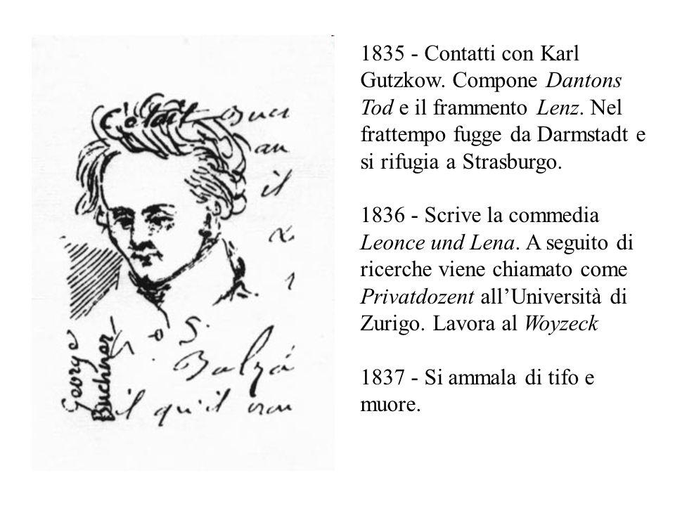 1835 - Contatti con Karl Gutzkow