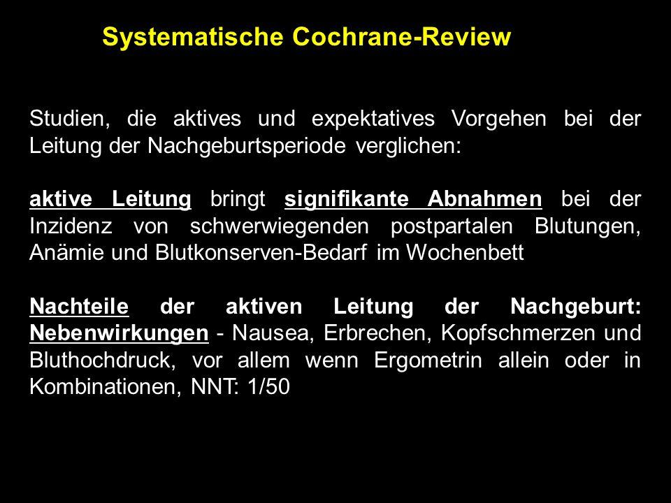 Systematische Cochrane-Review