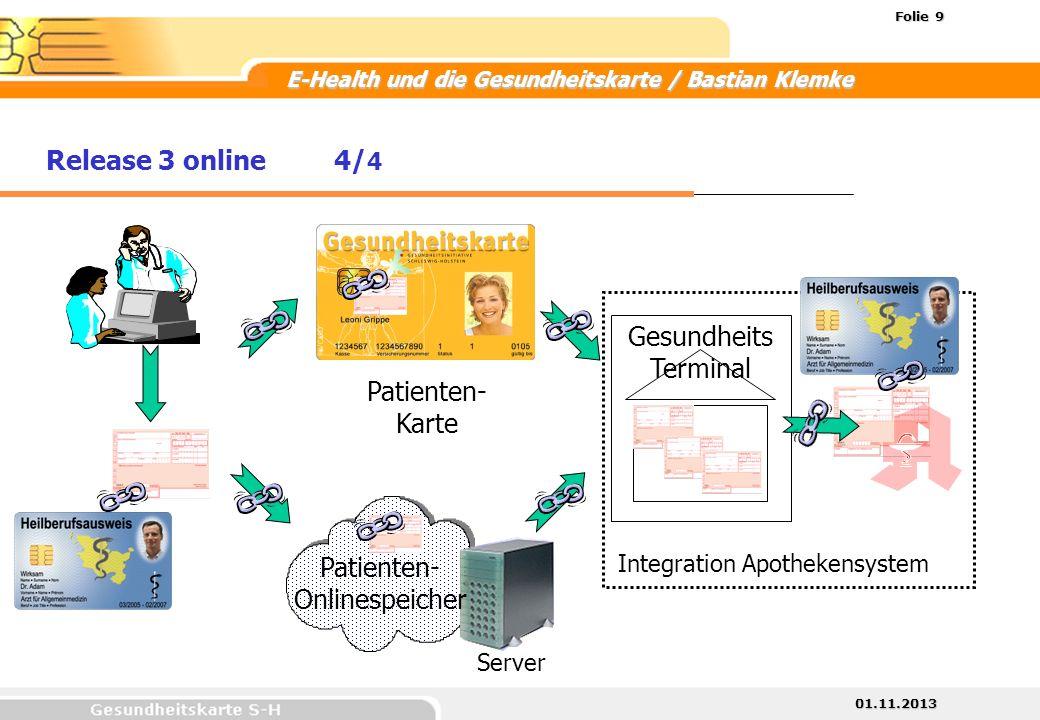 Patienten-Onlinespeicher