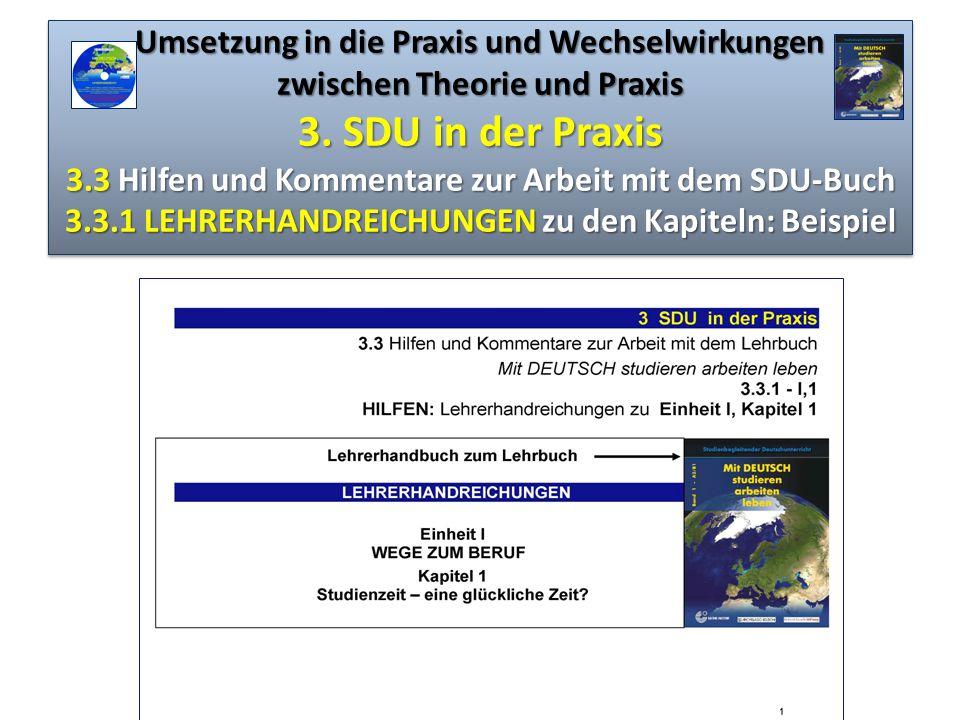 Umsetzung in die Praxis und Wechselwirkungen zwischen Theorie und Praxis 3.