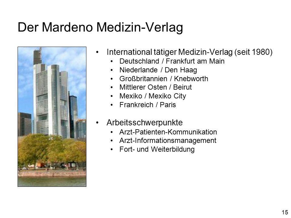 Der Mardeno Medizin-Verlag