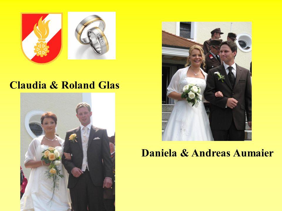 Claudia & Roland Glas Daniela & Andreas Aumaier