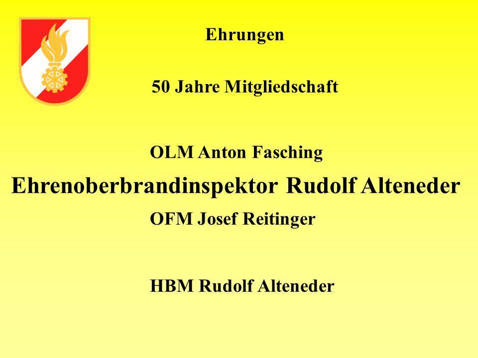 Ehrenoberbrandinspektor Rudolf Alteneder