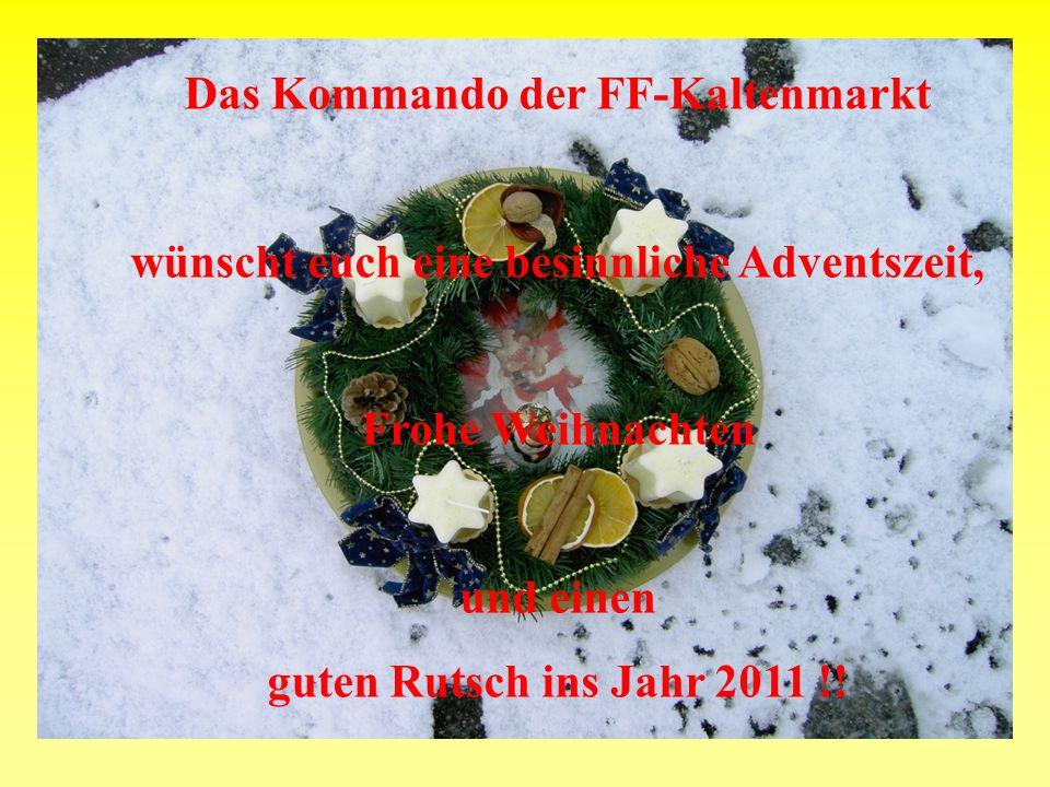 Das Kommando der FF-Kaltenmarkt